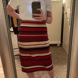 Dressy knee length skirt